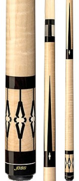 Joss - Natural Curly Maple w/Ebony & Holly Inlays
