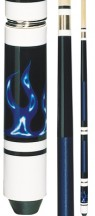 Economy - Blue Flame - Two Piece Cues