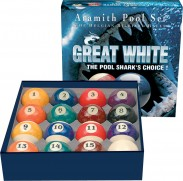 Accessories - Aramith Great White Ball Set - c&c balls