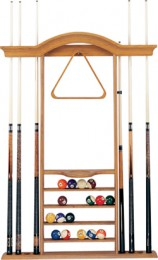 7 Cue Wall Rack