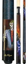 Players - Grim Reaper and Flaming 8-ball - Two Piece Cues