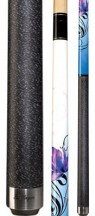 Players - Purple & Blue Lotus - Two Piece Cues