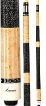 Two Piece Cues - Natural Super Birds-Eye Maple Jump Break Cue - Lucasi