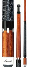 Two Piece Cues - Genuine cocobola and ebony - Lucasi