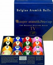 Accessories - SUPER ARAMITH PRO SET TV EDITION-SATS - c&c balls
